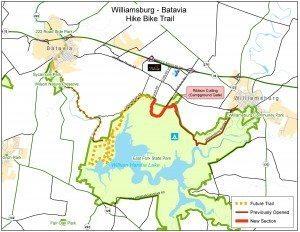 bike trail map
