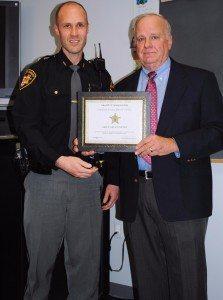 Deputy Ryan Patton and Sheriff Rodenberg
