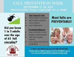 fall prevention week