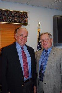 Sheriff Rodenburg and Judge Pattison