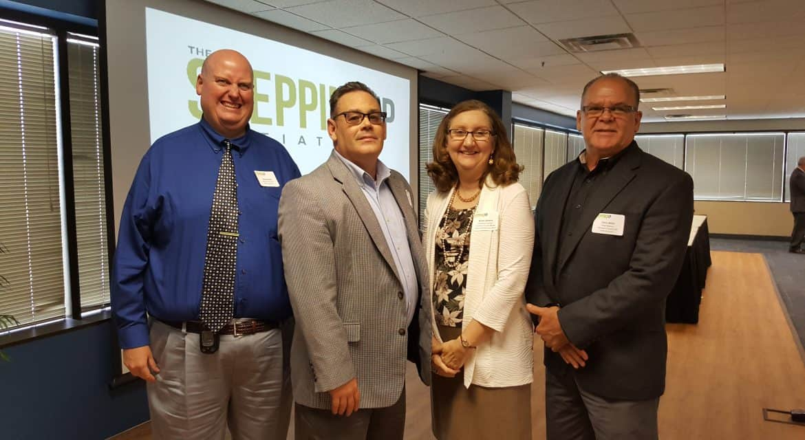 From Left: Denny Moell, Assistant Director Of Crisis Services, Child Focus;  Joe Ellison, Chief Probation Officer, Clermont County Municipal Court; ...